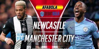 Prediksi Newcastle United vs Manchester City 29 Juni 2020