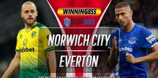 Prediksi Norwich City vs Everton 25 Juni 2020