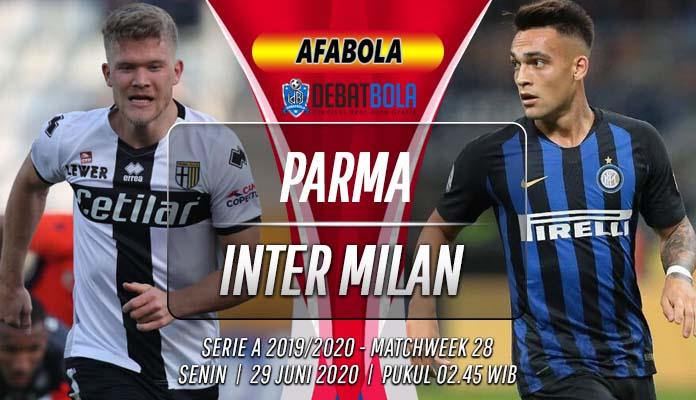 Prediksi Parma vs Inter Milan 29 Juni 2020