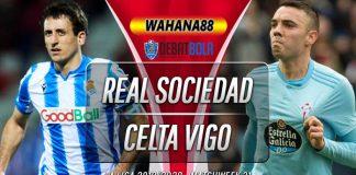 Prediksi Real Sociedad vs Celta Vigo 25 Juni 2020