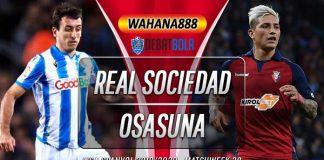 Prediksi Real Sociedad vs Osasuna 15 Juni 2020