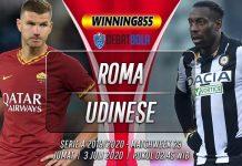 Prediksi Roma vs Udinese 3 Juli 2020