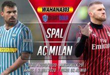 Prediksi SPAL vs Milan 2 Juli 2020