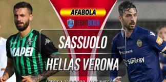 Prediksi Sassuolo vs Hellas Verona 29 Juni 2020