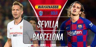 Prediksi Sevilla vs Barcelona 20 Juni 2020