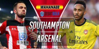 Prediksi Southampton vs Arsenal 26 Juni 2020