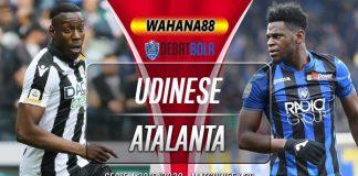 Prediksi Udinese vs Atalanta 29 Juni 2020