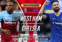 Prediksi West Ham vs Chelsea 2 Juli 2020