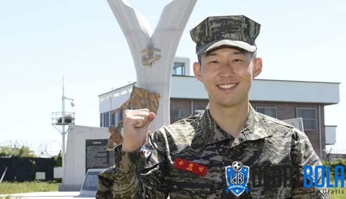 Son Heung-min Ceritakan Masa Wajib Militernya
