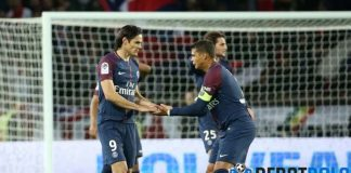 Usai Sudah Kebersamaan Edinson Cavani dan Thiago Silva Bersama PSG