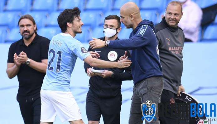 David Silva Jalani Laga Terakhirnya Bersama Manchester City di Premier League
