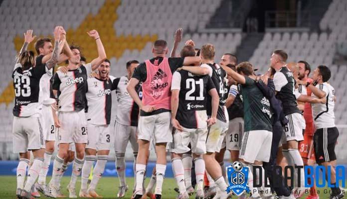 Juventus Segel Gelar Scudetto Kesembilan Beruntun