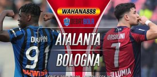 Prediksi Atalanta vs Bologna 22 Juli 2020