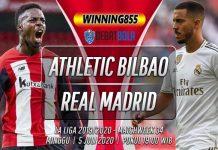 Prediksi Athletic Bilbao vs Real Madrid 5 Juli 2020