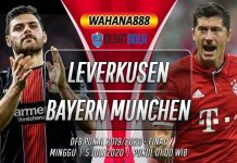 Prediksi Bayer Leverkusen vs Bayern Munchen 5 Juli 2020