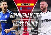 Prediksi Birmingham City vs Derby County 23 Juli 2020