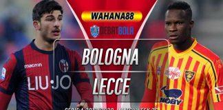 Prediksi Bologna vs Lecce 26 Juli 2020