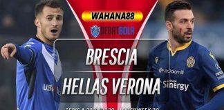 Prediksi Brescia vs Hellas Verona 6 Juli 2020