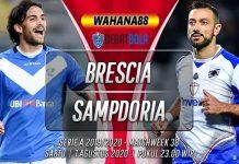 Prediksi Brescia vs Sampdoria 1 Agustus 2020