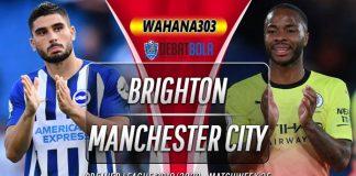 Prediksi Brighton vs Manchester City 12 Juli 2020