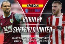 Prediksi Burnley vs Sheffield United 5 Juli 2020