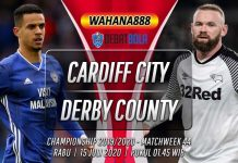Prediksi Cardiff City vs Derby County 15 Juli 2020