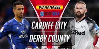 Prediksi Cardiff City vs Derby County 15 Juli 2020