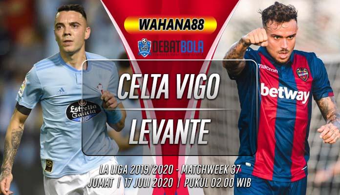 Prediksi Celta Vigo vs Levante 17 Juli 2020