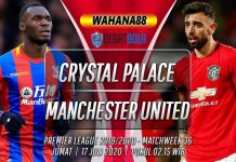 Prediksi Crystal Palace vs Manchester United 17 Juli 2020