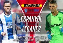 Prediksi Espanyol vs Leganes 5 Juli 2020