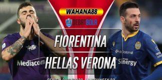 Prediksi Fiorentina vs Hellas Verona 13 Juli 2020