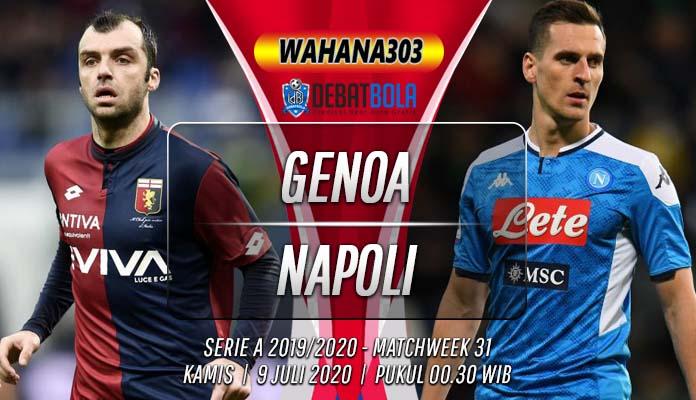 Prediksi Genoa vs Napoli 9 Juli 2020