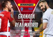Prediksi Granada vs Real Madrid 14 Juli 2020