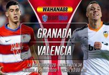 Prediksi Granada vs Valencia 5 Juli 2020