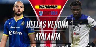 Prediksi Hellas Verona vs Atalanta 18 Juli 2020