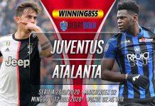 Prediksi Juventus vs Atalanta 12 Juli 2020