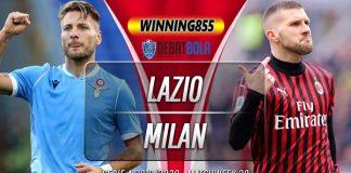 Prediksi Lazio vs Milan 5 Juli 2020