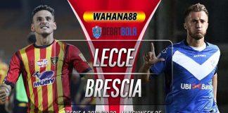 Prediksi Lecce vs Brescia 23 Juli 2020