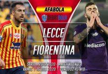 Prediksi Lecce vs Fiorentina 16 Juli 2020