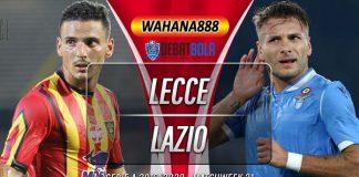 Prediksi Lecce vs Lazio 8 Juli 2020