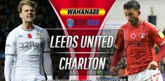 Prediksi Leeds United vs Charlton Athletic 23 Juli 2020