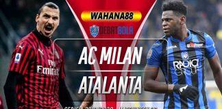 Prediksi AC Milan vs Atalanta 25 Juli 2020