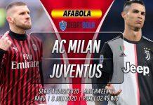 Prediksi Milan vs Juventus 8 Juli 2020