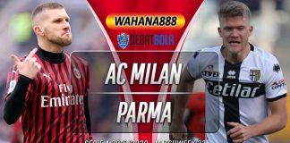 Prediksi Milan vs Parma 16 Juli 2020