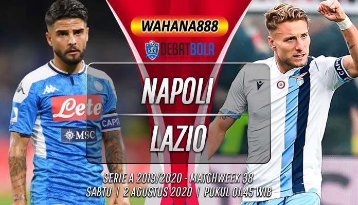 Prediksi Napoli vs Lazio 2 Agustus 2020