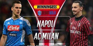Prediksi Napoli vs Milan 13 Juli 2020