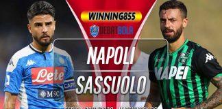 Prediksi Napoli vs Sassuolo 26 Juli 2020