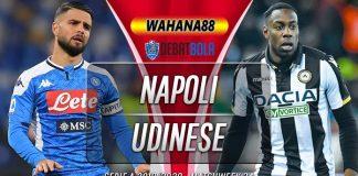 Prediksi Napoli vs Udinese 20 Juli 2020