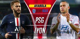 Prediksi PSG vs Lyon 1 Agustus 2020
