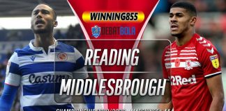 Prediksi Reading vs Middlesbrough 15 Juli 2020
